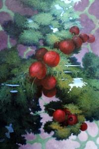 1)Trionfo-cm90x60-olio su tela applicata su tavola-2015